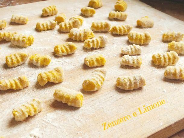 Gnocchi di zucca e patate   ricetta base   Zenzero e Limone