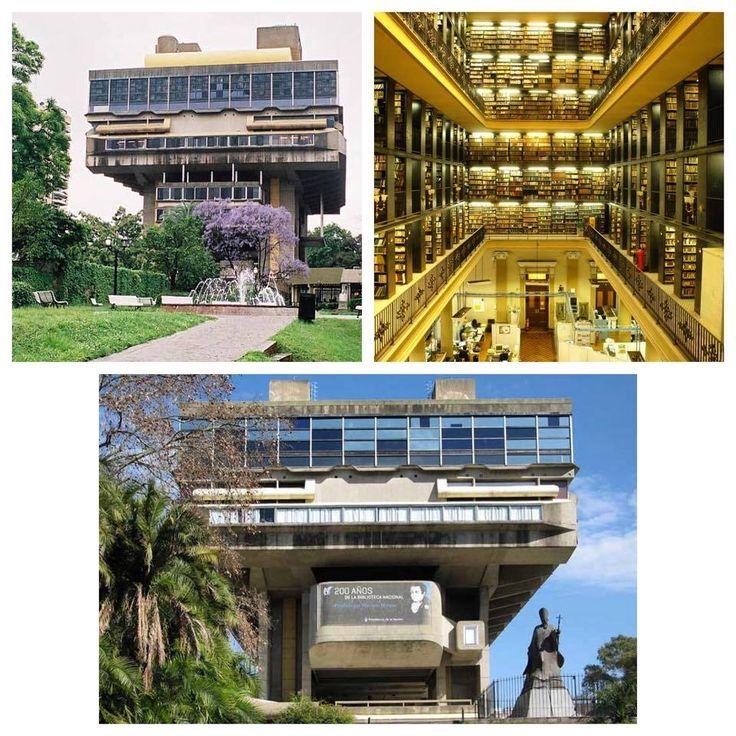 Biblioteca Nacional de La Republica Argentina é onde você encontra muita paz para se concentrar nos exames finais aqui em Buenos Aires, e não só isso, é o prazer de estudar em um lugar tão lindo! Turismo Buenos Aires