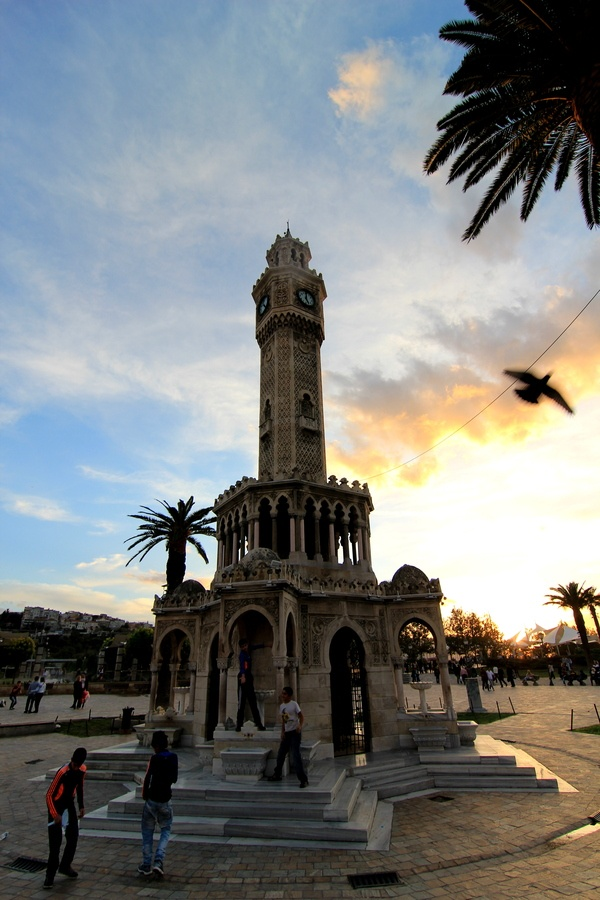 Clock Tower Izmir, Turkey. I remember visiting this multiple times while living in Izmir.