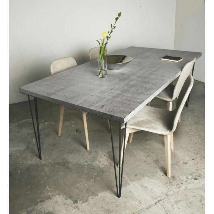 25+ parasta ideaa pinterestissä: tisch betonoptik | arbeitsplatte, Esszimmer dekoo