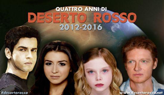 """Quattro anni su Marte: il quarto anniversario di """"Deserto rosso"""" (2012-2016) http://dld.bz/eABMK #DesertoRosso"""