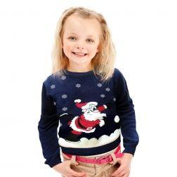 #Święty #Mikołaj już do nas zawitał, milutki sweterek dla Twojego dziecka do kupienia na http://swetryswiateczne.pl/pl/