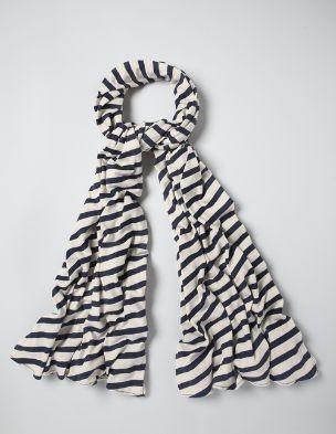 My Boden Spring Wishlist :: Stripy Scarf, Navy