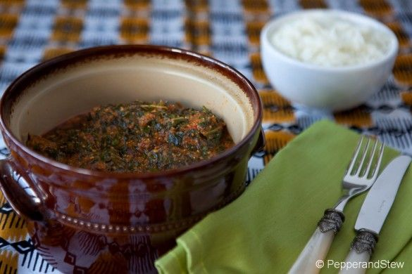 Egusi Sauce – Spinach and Egusi Beef Stew