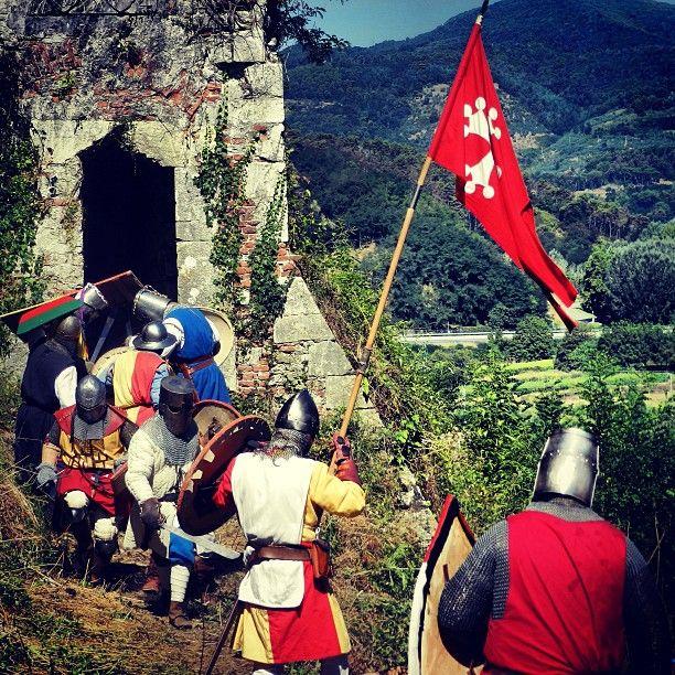 24 settembre A.D. 1261 assalto alla Rocca di Ripafratta