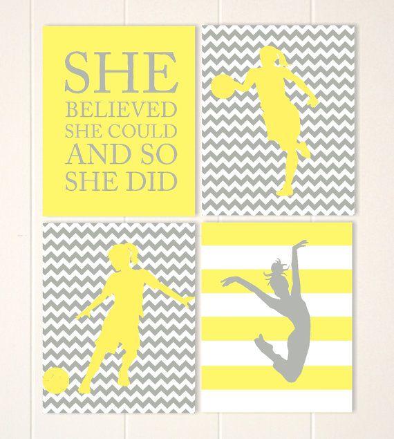 67 best Girls wall art, girls room decor images on Pinterest   Girl ...