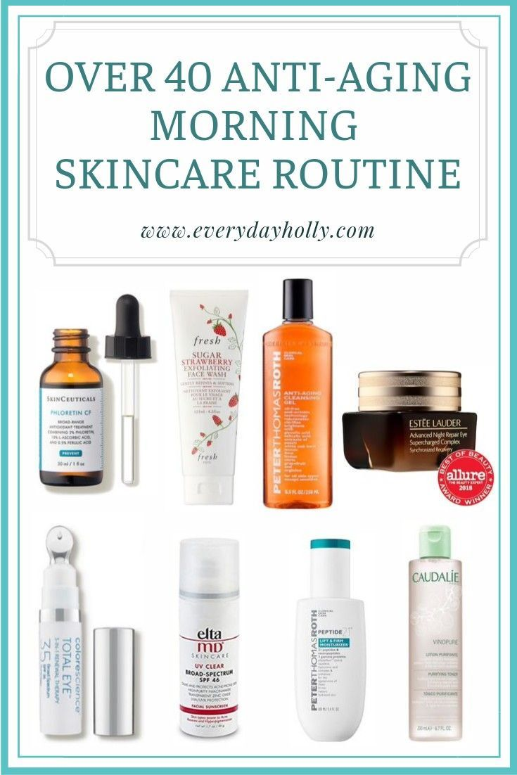 Over 40 Anti Aging Skincare Routine These Are All Products I Use And Love This Is No Anti Aging Skincare Routine Skin Care Routine 40s Anti Aging Skin Care