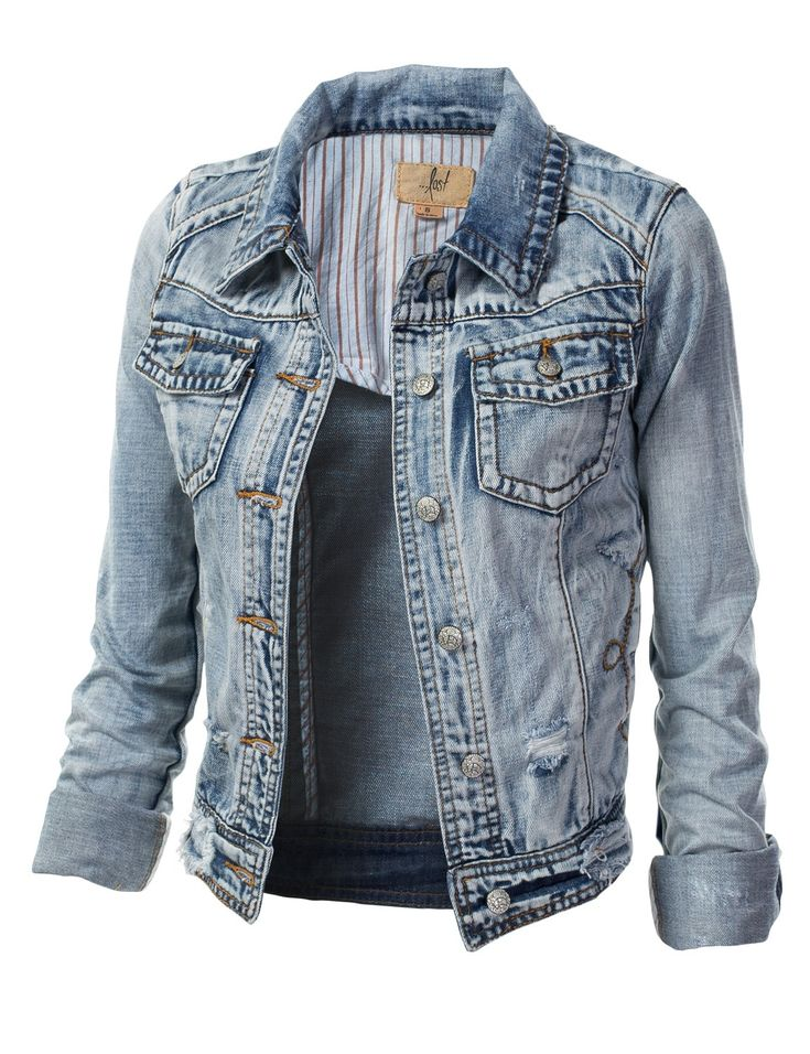 100 best Denim images on Pinterest | Jean jackets, Denim jackets ...