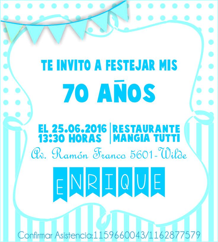 Invitaciones...
