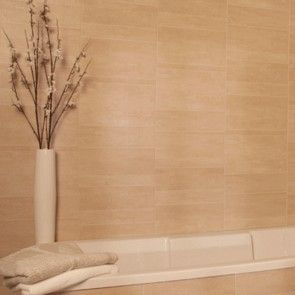 Sandstone Standard Tile Wall or Ceiling Cladding Panel (8mm x 375mm x 2.6m x 3 | Marbrex)
