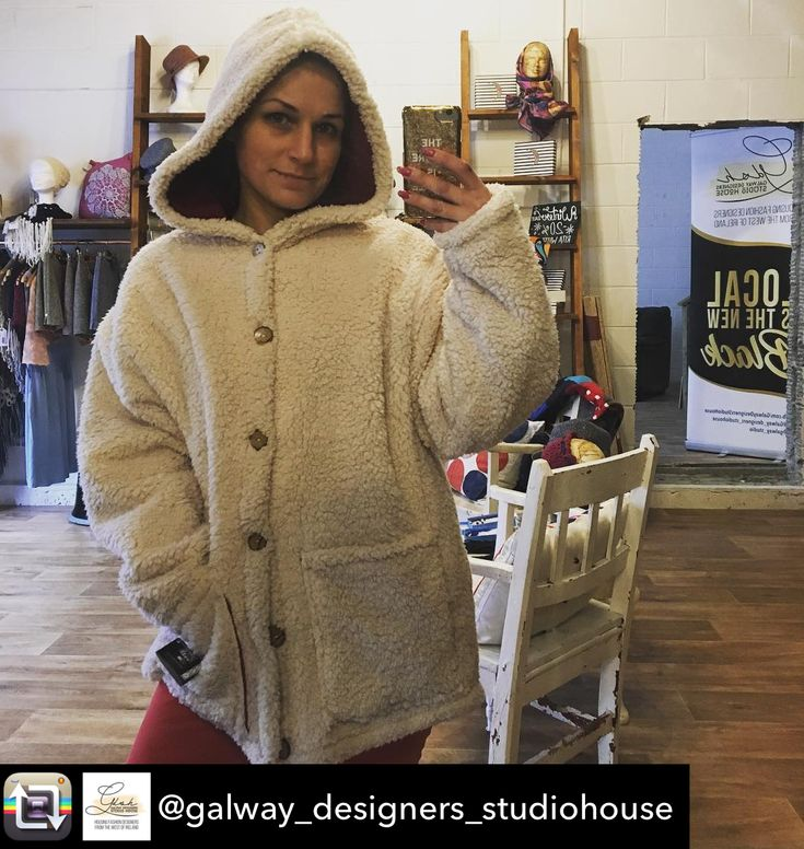 Repost from @galway_designers_studiohouse using @RepostRegramApp - Another arctic storm has landed! Yei... nei! 😒❄️🌨 make sure you wrap up well, maybe try this fleece lined fleece coat from @blackfieldclothingstudio ? When you are out and about you could not get any warmer that that!