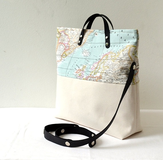 36 best world map bag collection by pagur design images on pinterest world map printed cotton fabric and canvas by renklitasarimlar 5700 gumiabroncs Choice Image
