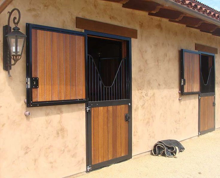 Our hold open door magnets are a must have for outside Dutch doors, but also work well on interior hinged stall doors
