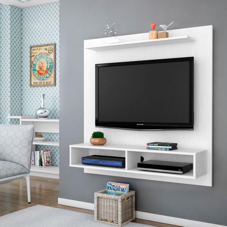 Painel para TV 1.1 Gama Branco com Textura