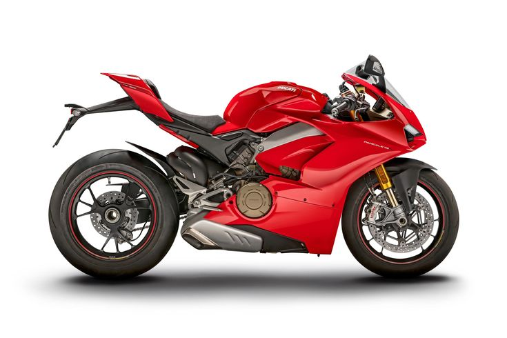 Ducati Panigale V4   Horsepower	214 hp	 Torque	  91.5 lbs•ft	 Weight	 386 lbs (wet)	 Engine	V4 / 90° / 1,103cc	 Price	$27,495