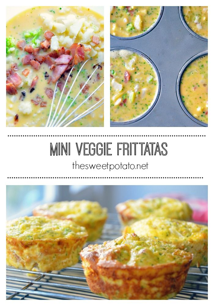 These mini Veggie Frittatas are super easy to prepare and perfect to freeze.