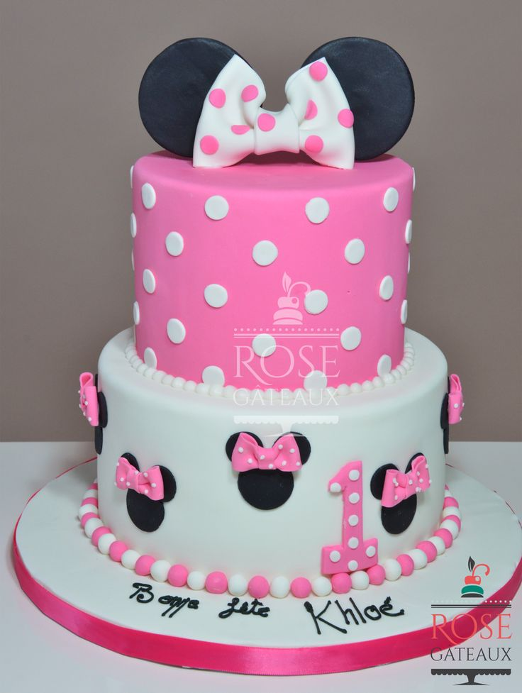 Minnie mouse cake g teau d 39 anniversaire pinterest minnie mouse minnie mouse cake and - Gateau mickey facile ...