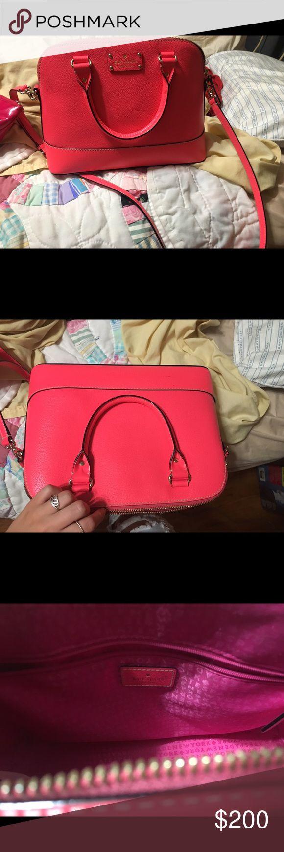 Kate spade pink purse Kate spade pink purse big Bags Backpacks