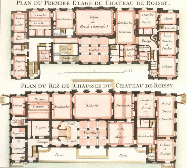Captivating Le Rouge, Georges Louis.Les Jardins Anglo Chinois.This Plate: Cahier ·  Luxury House PlansLuxury ...