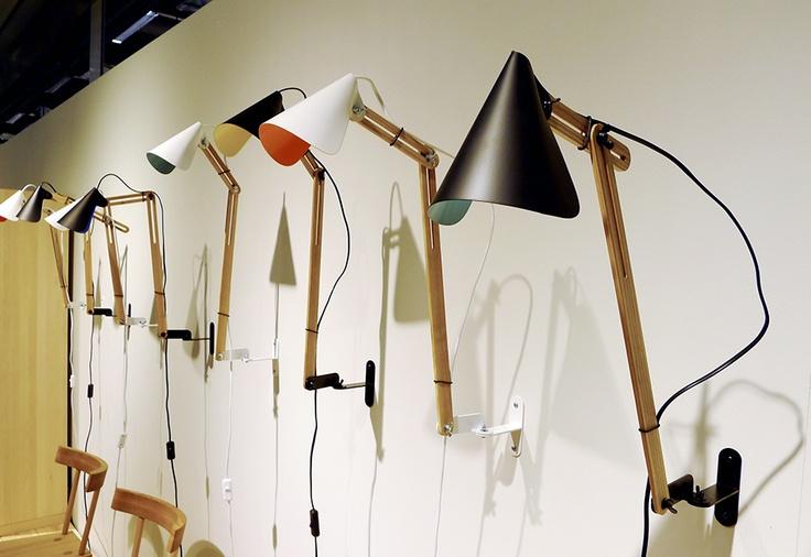 Klyyvari LED lamps from Scandinavian Carpenter Collective. Design by Kristiina and Yrjö Wiherheimo.