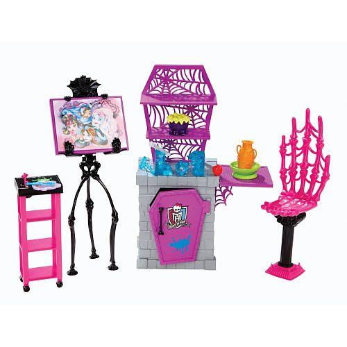 """Monster High School - Art Class Playset -  Mattel - Toys""""R""""Us"""