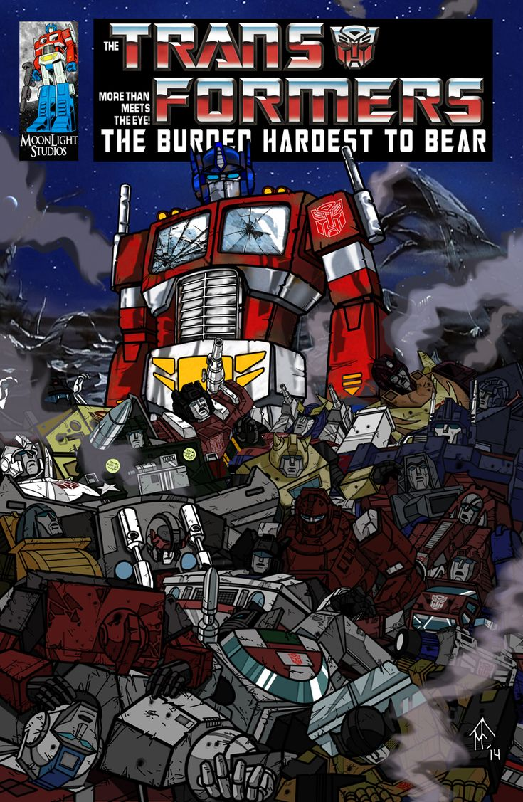 G1 transformers comic the burden hardest to bear tfw2005 by tfprime http