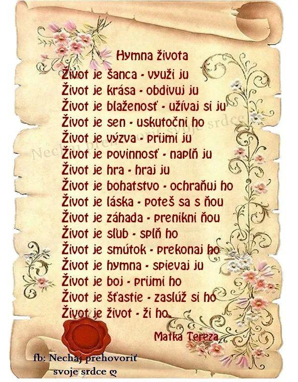Hymna zivota