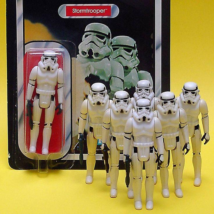 Star Wars NZ - vintage Stormtrooper action figures