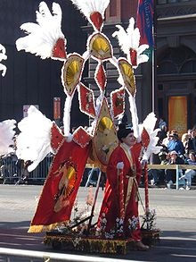 mummer's parade - new year's day
