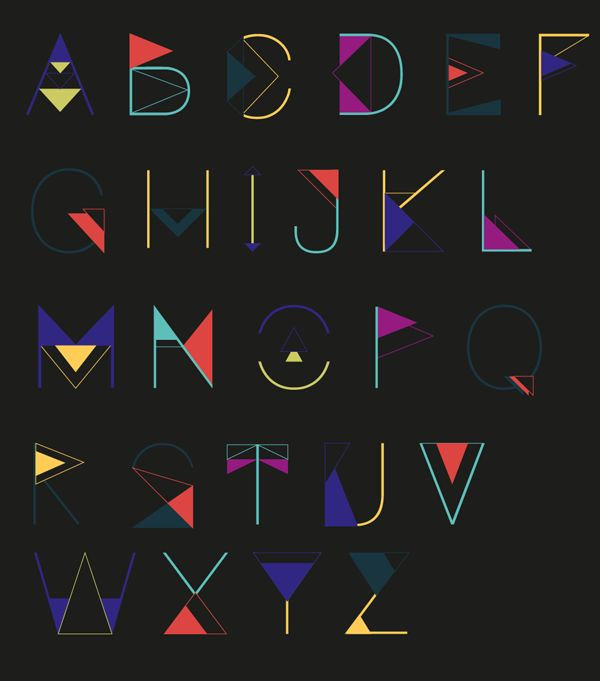 Typographie modules - T Y P O T O T E M - Julie Jup