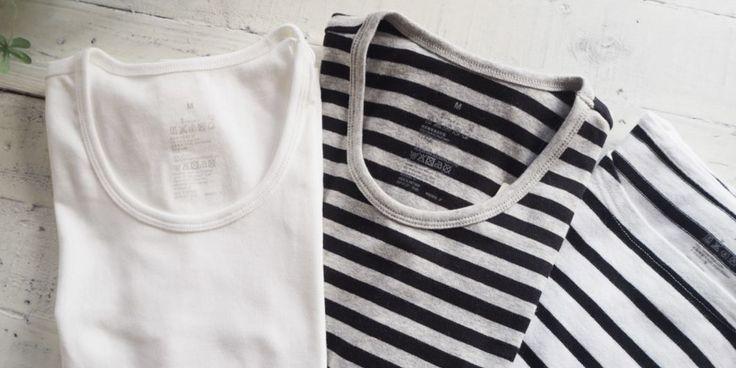 """1000円以下でGET無印良品の""""ボーダーTシャツ""""を芸能人達もこぞって購入してる理由"""