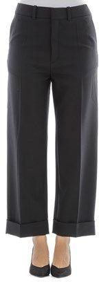 Chloé Women's Black Wool Pants.