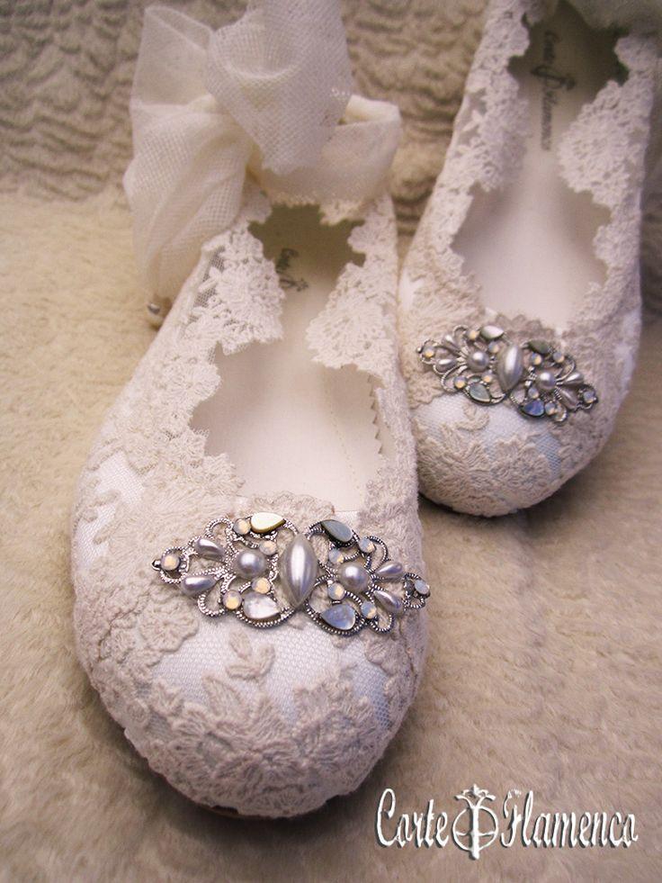 Maria barragan zapatos de comunion exclusivos corte - Ideas para decorar zapatos de nina ...