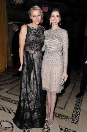 Princess Charlene and Anne Hathaway