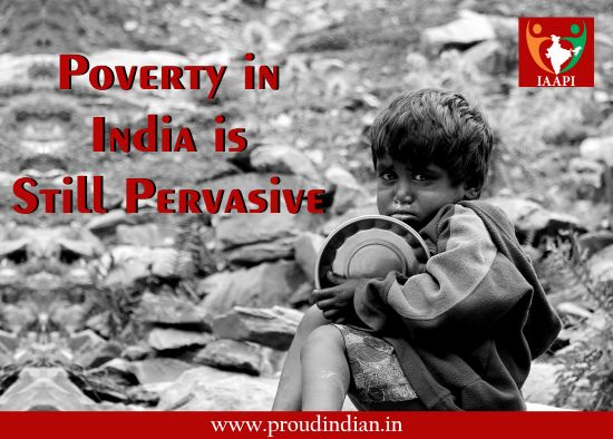 #Poverty in India is still pervasive, especially in rural areas where 70% of India's population live in. It is said that a country is poor, if more than half of its population is poor. If the rate of poverty can be low it can directly affect the overall development of country. #development #population