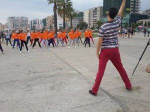 79 flash mobs MOVED Europe on Saturday