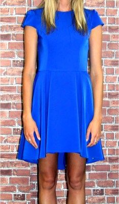Living Doll wedgewood dress in electric blue perfect for the races $69.95 | Shop it now in our online store and receive a free gift with every purchase at www.threadsandstyle.com.au