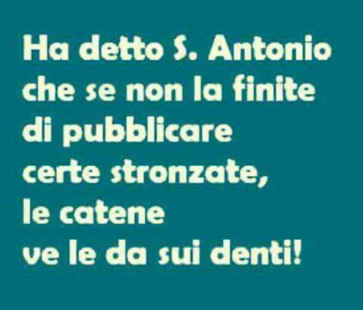 Le catene di S.Antonio
