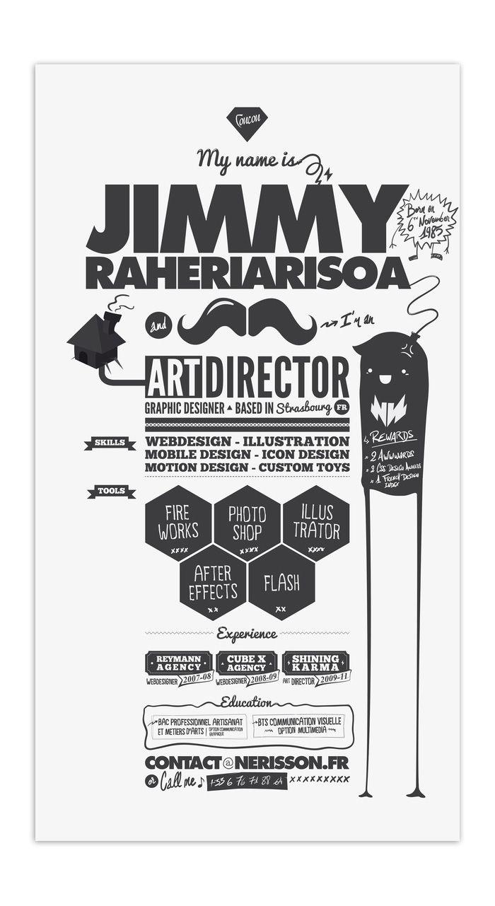 best images about art resumes creative resume of jimmy raheriarisoa