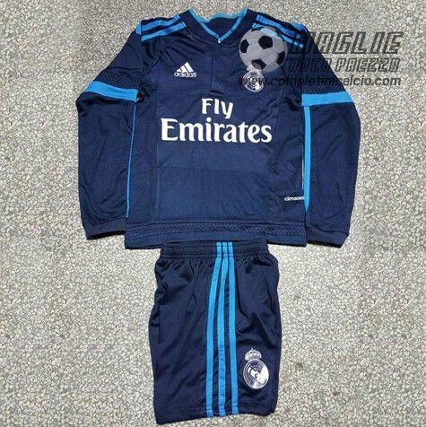 Third Maglia Calcio Bambini Thailandia Real Madrid 2016  €20.5