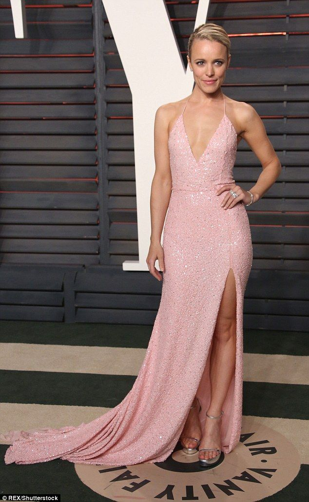 Always a winner: The blonde actress looked unfazed by her loss in the Best Supporting Actress category to Alicia Vikander as she posed up a storm at the Vanity Fair after party
