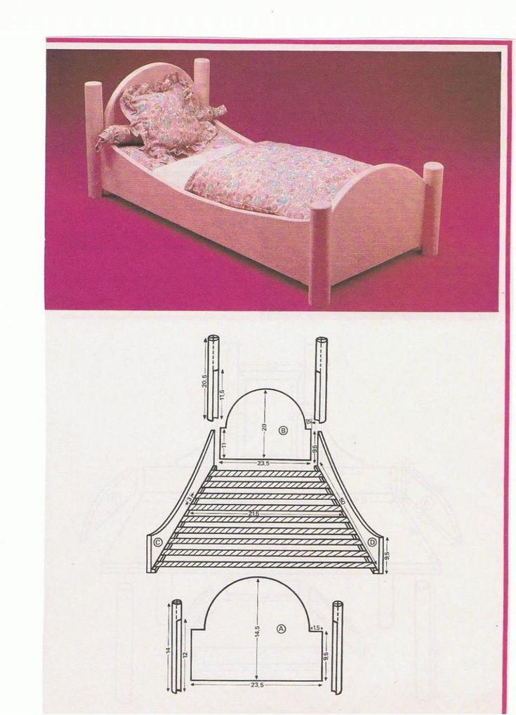 PAR AMOUR DES POUPEES :: M&T 1981-10 Chambre romantique rose de Marie-Françoise