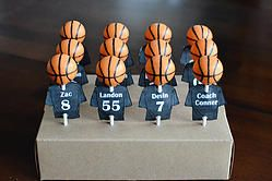Basketball Cake Pops http://www.jamiessweetrevenge.com