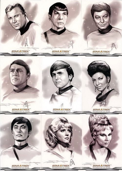 Original cast portraits