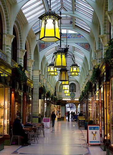 royal arcade, a shopping mall in norwich, england   travel photography