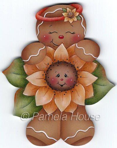 Ginger Loves Flowers Pattern