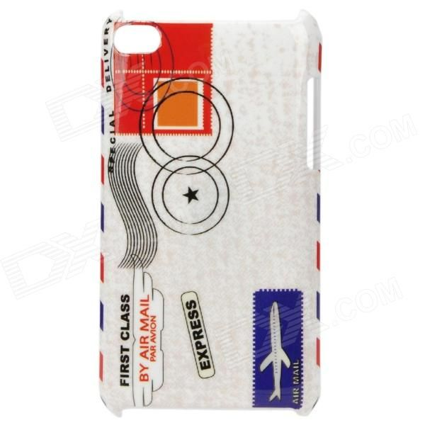 Quantity: 1 Piece; Color: White + Red; Material: PC; Compatible Models: Ipod Touch 4; Features: Protects your phone from scratches dust and shocks; Personalizes your phone with it; Packing List: 1 x Case; http://j.mp/1tpiBUc