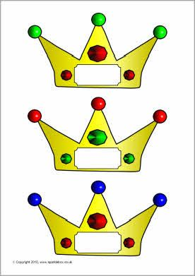 Pupil self-registration crowns and tiaras (SB3446) - SparkleBox