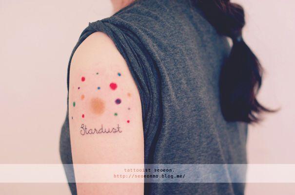 30 tatouages spatiaux et cosmiques   30 tatouages spatiaux et cosmiques espace etoile planete cosmos 26