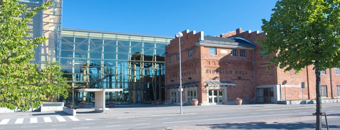 Many concerts and congresses are kept in Sibelius Hall. #Sibelius #Hall #Concert #Congress